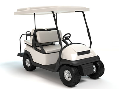 picture of a golf cart
