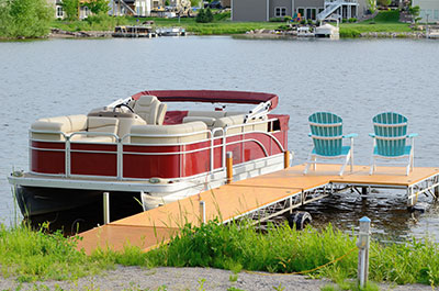 picture of a pontoon